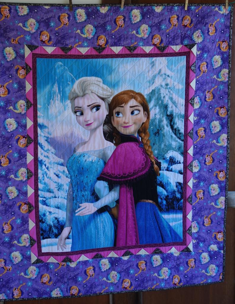 """Frozen Kitset  Finished Size 471/2"""" x 56""""   ONE kitset LEFT"""