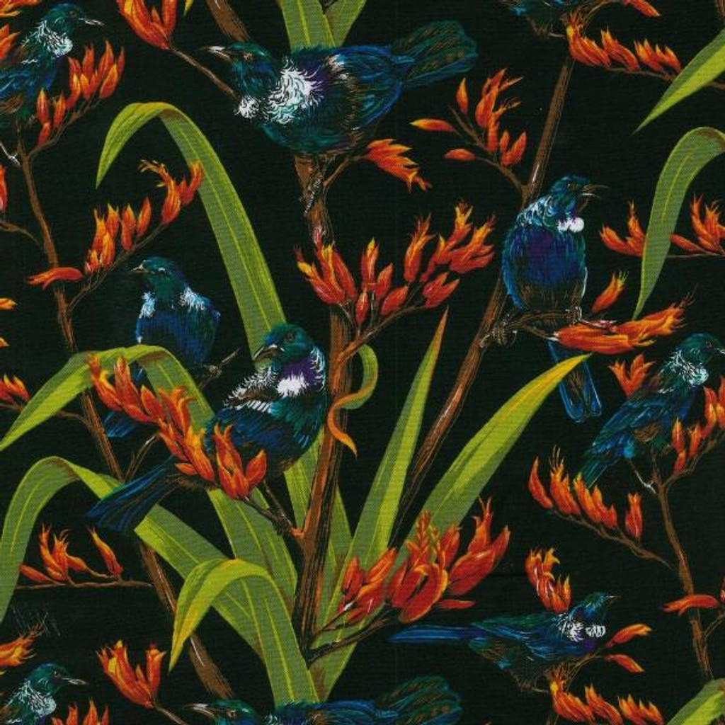 Flax and Friends Col. 102 Black  1/2 Metre Length