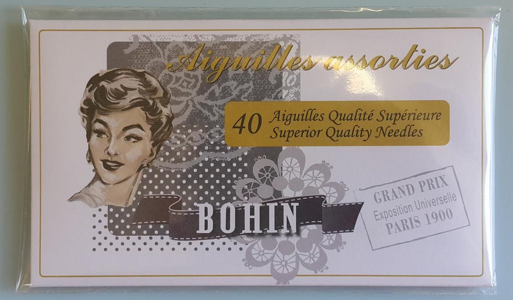 Bohin Needles - 40 Pack White