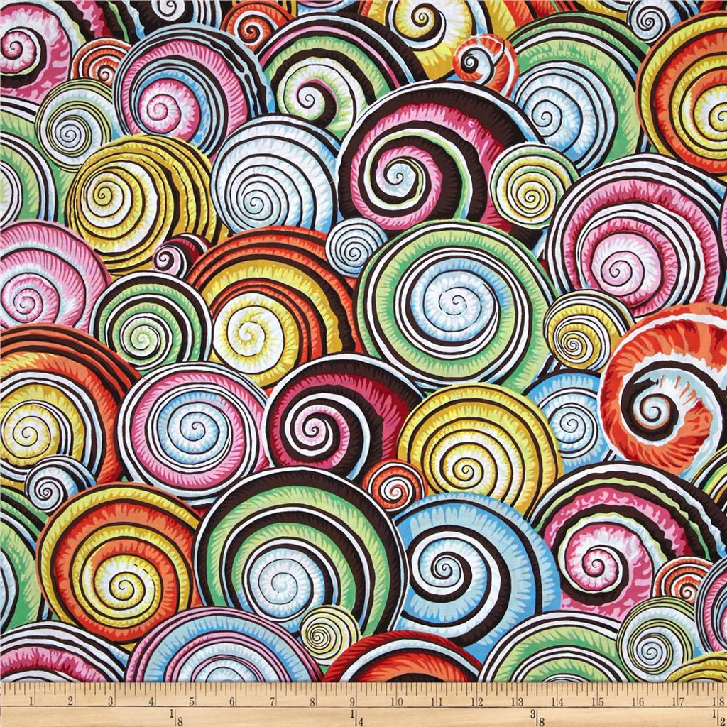 Spiral Shells - Multi 1/2 Meter Length