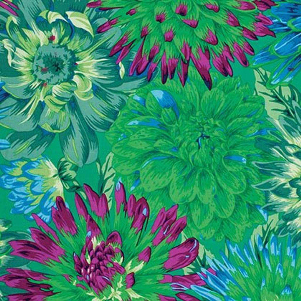 Cactus Dahlias - Green 1/2 Meter Length