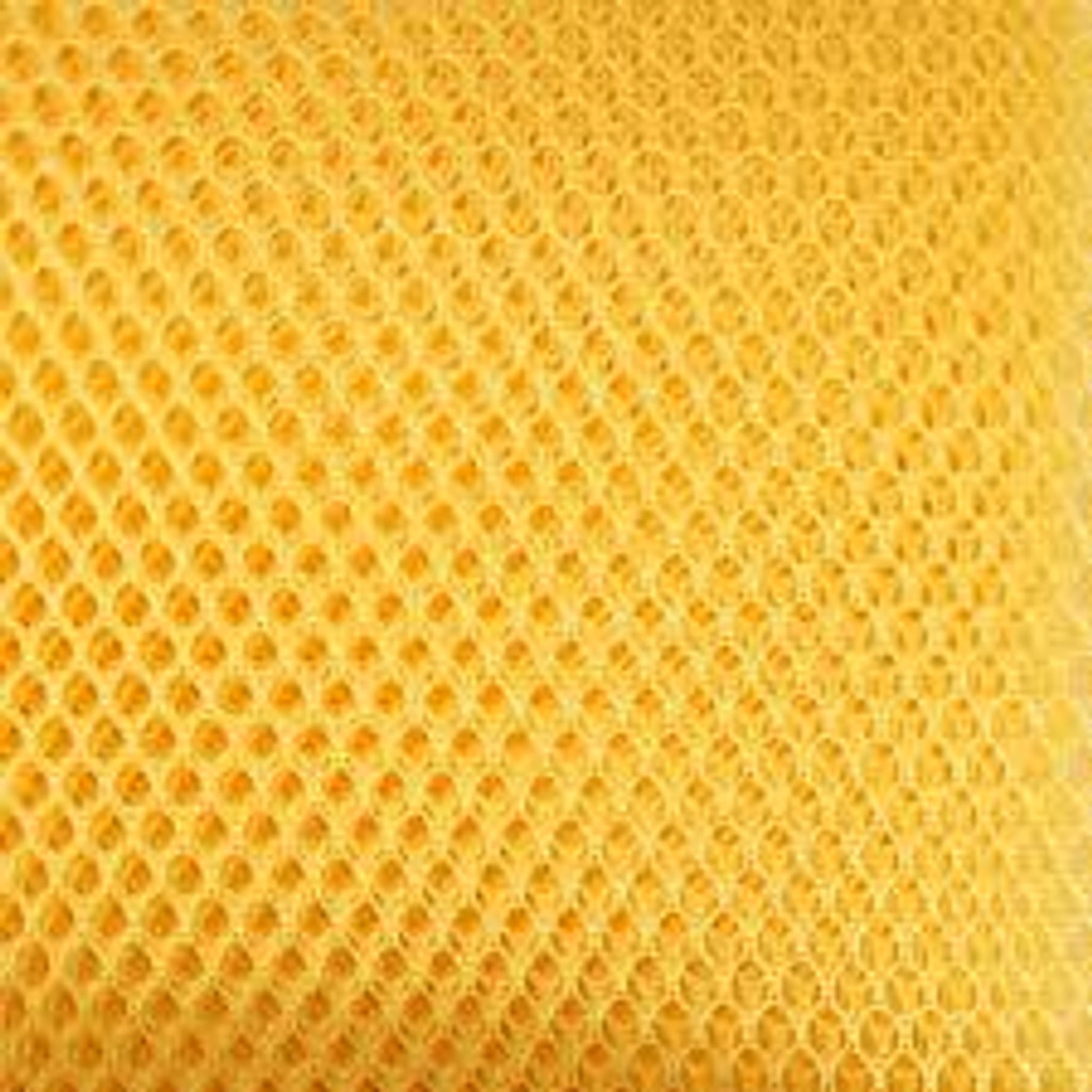 Mesh Fabric Yellow PRECUT