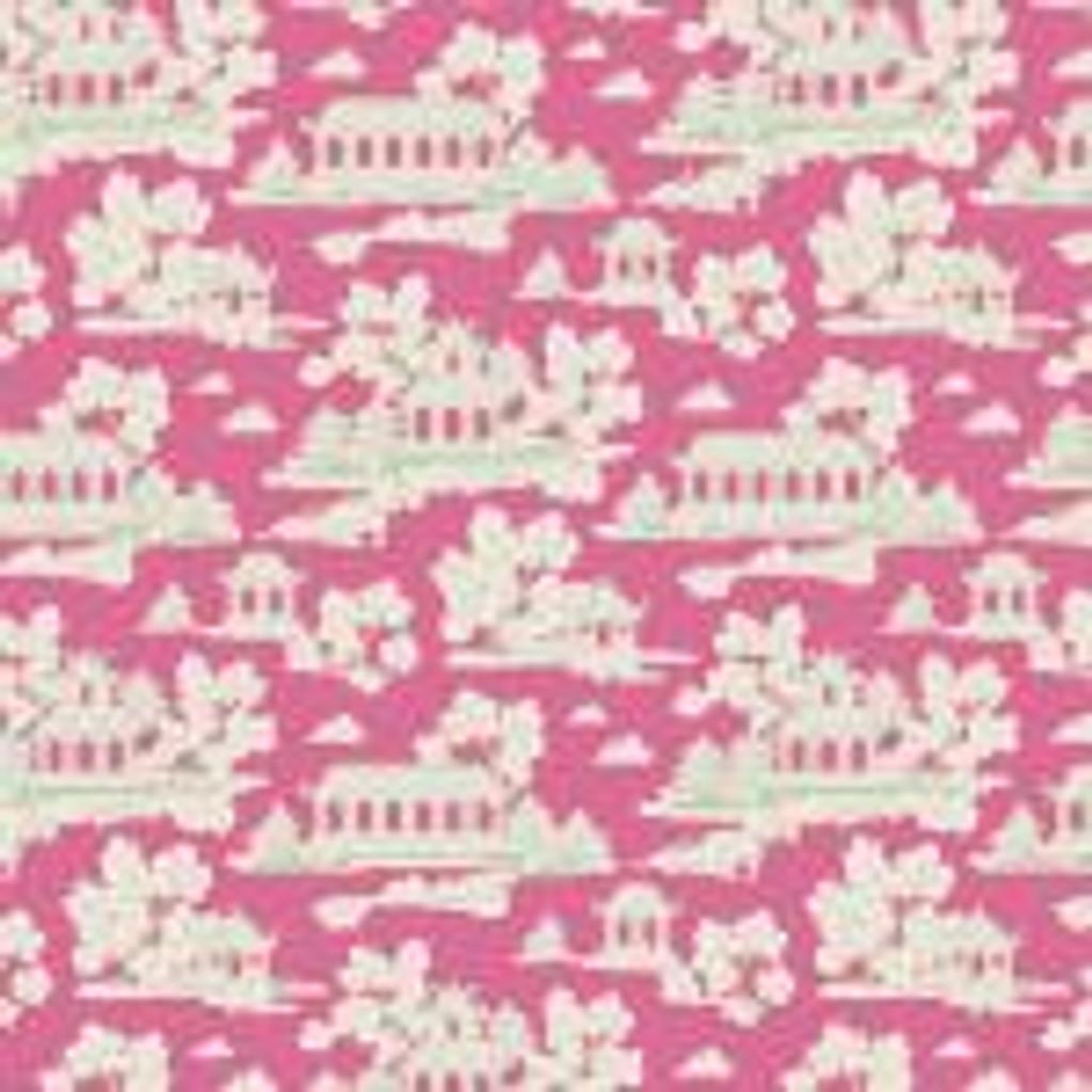 Bumblebee Sunny Park Pink 1/2 Meter length
