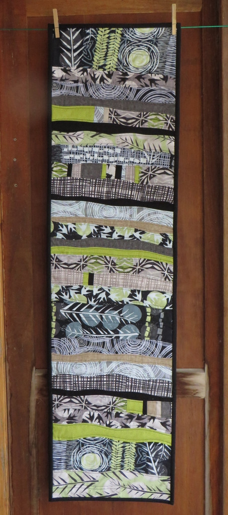 """Marks Table Runner 14""""x 50"""" designer Valori Wells comes with a book of other projects"""
