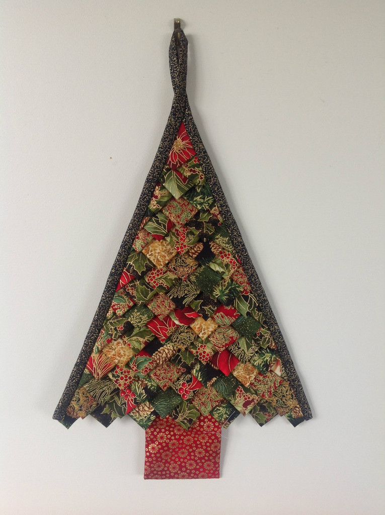 Folded Christmas Tree - Green