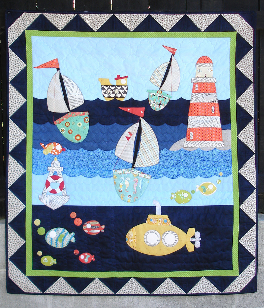 """In the Channel  Quilt Kitset (41"""" x 47"""")"""