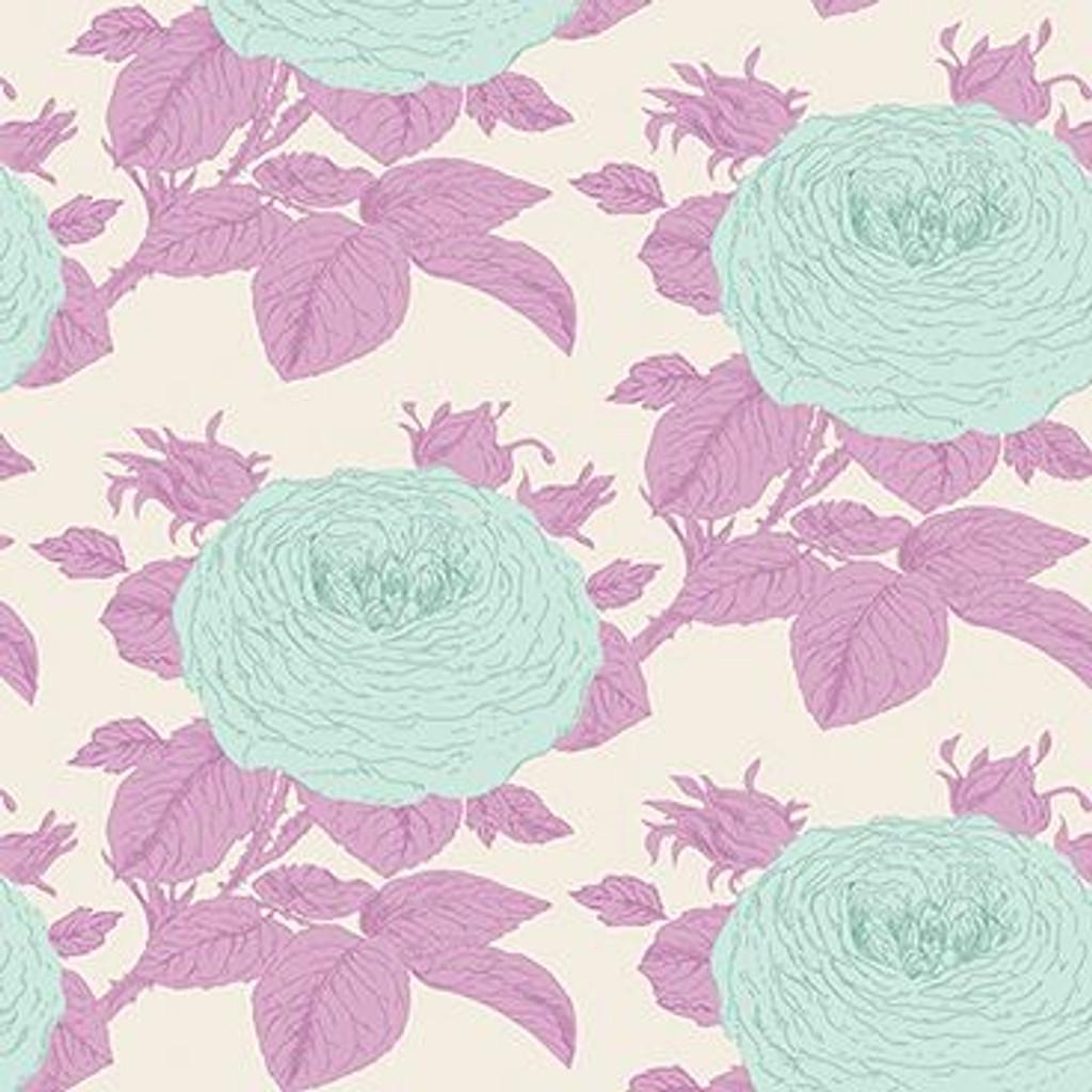 Tilda Sunkiss Grandmas Rose Lilac - per half metre length