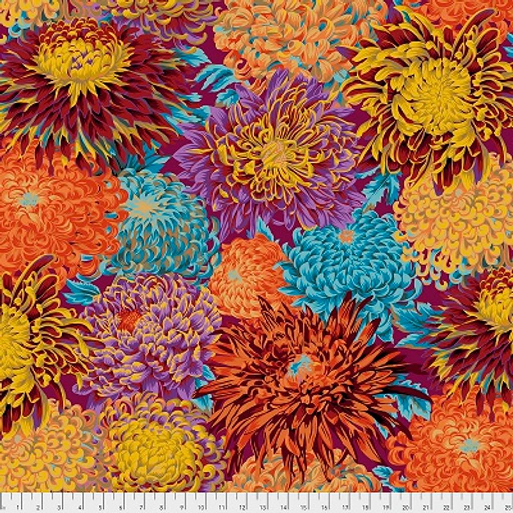 Kaffe Fassett 041 Japanese Chrysanthemum Autumn - per half meter length
