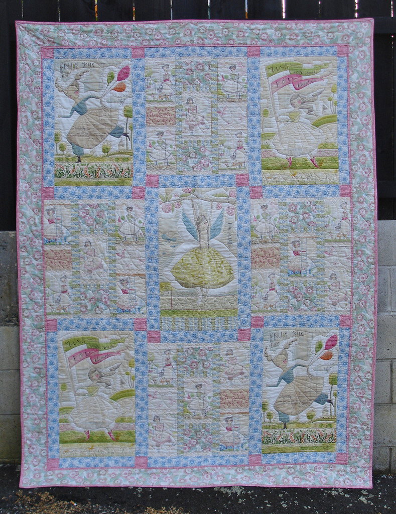 """The Makers  Quilt Kitset - Finished Size    58"""" x 76"""""""