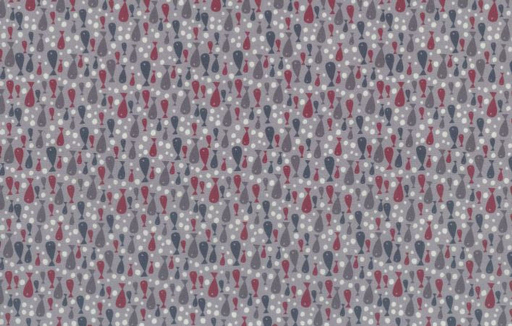 Fish Grey - 706903 - 1/2 Metre Length