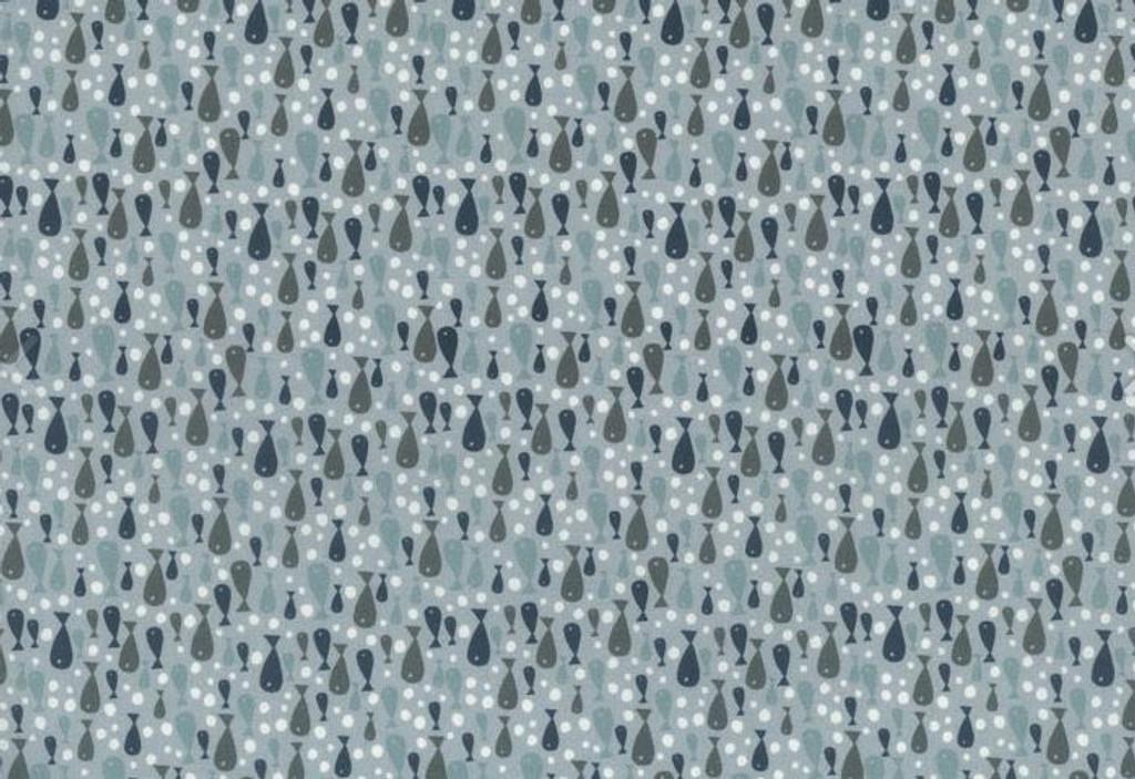 Fish Light Blue - 706903 - 1/2 Metre Length