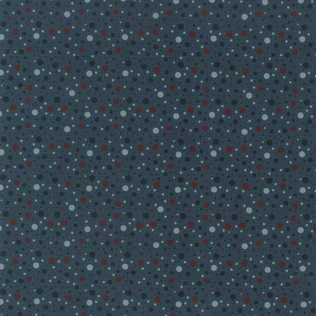 Spots Mid blue- 706905 - 1/2 Metre Length