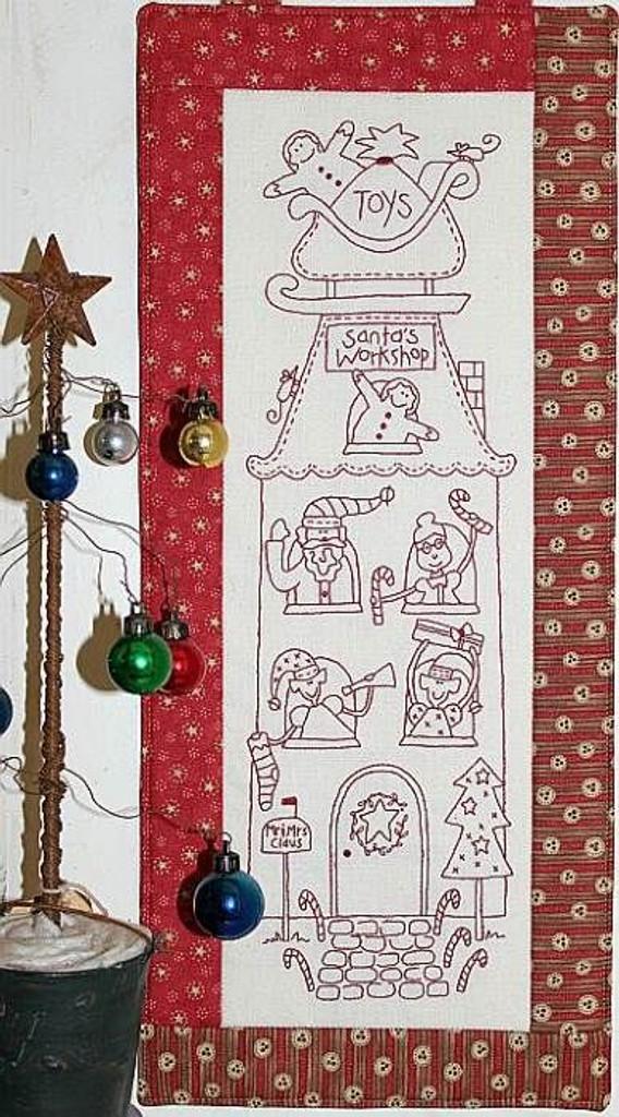 Santa's Workshop - Natalie Bird Stitcheries