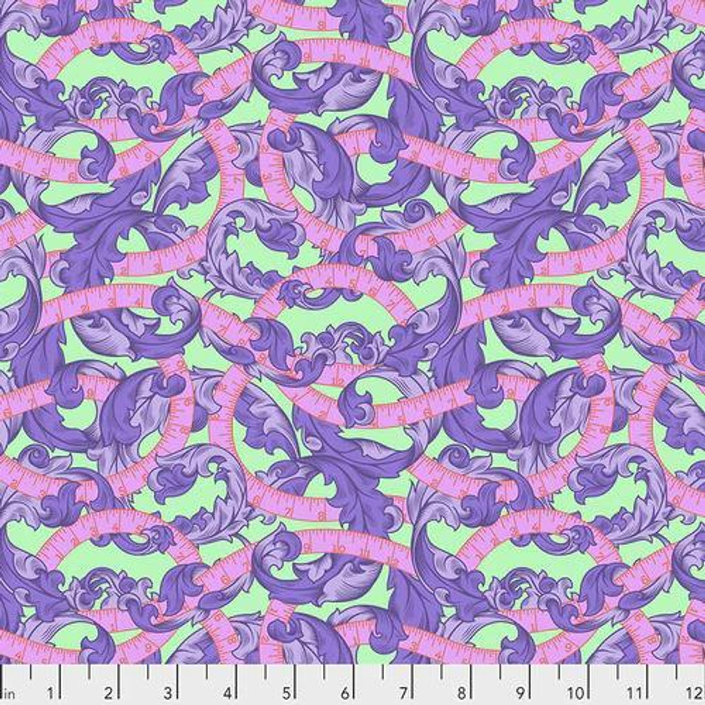 Measure twice | Tula Pink Homemade collection | 1/2 metre length
