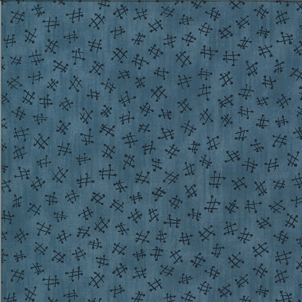 Fitsgerald Crotchet | The Blues by Janet Clare, Moda | 1/2 metre length