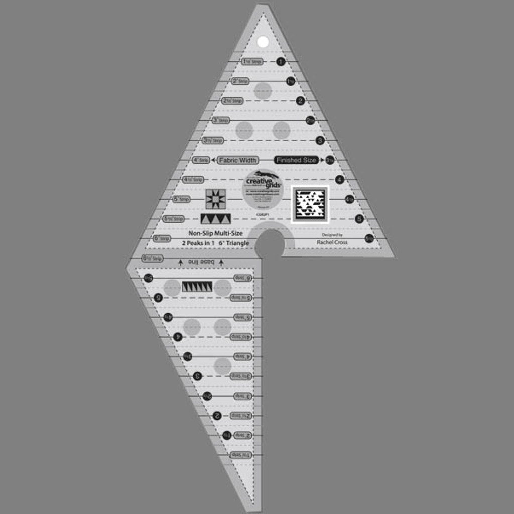 2 Peaks in 1 Multi-Size Triangle