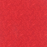 Berries & Pine - 10053 - Tonal Cardinal 1/2 Metre Length