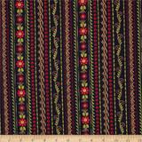Stripe - 10054 - Midnight 1/2 Metre Length
