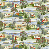 Retro Holidays Col. 101  1/2 Metre Length