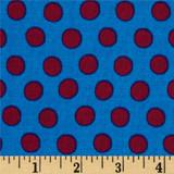 Spots - Peacock 1/2 Meter Length