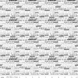 SKIES WORDS WHITE 1/2 Metre Length