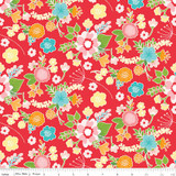 WISTFUL MAIN RED 1/2 Metre Length