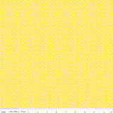 WISTFUL DOT YELLOW 1/2 Metre Length