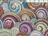 Antique Spiral Shell Kaffe Fassett (PWPJ073)  per 1/2 metre length
