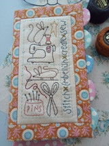 Sewing mouse Needlebook - Natalie Bird Design