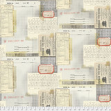 Eclectic Elements Tim Holtz - memoranda typewriter - per half metre length