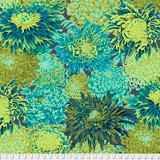 Kaffe Fassett 041 Japanese Chrysanthemum Forest - per half meter length