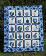 """Usagi Quilt Kit  56 X 67"""" 20 Block - Also available in 48"""" X 48"""""""