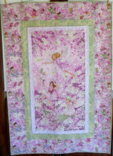 """Dancing Faries Kitset - Finished size 42"""" x 61  1/2"""""""