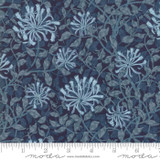 Moda May Morris Honeysuckle Indigo 7347 - Per half metre length