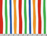 Dr Seuss - Cat in the Hat- Multi Stripe - per half metre length