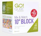 """Accuquilt - GO QUBE Mix & Match 10"""" block AQ55797"""