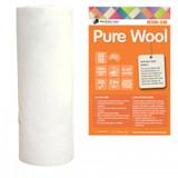 Wool Batting 100%  - per metre length