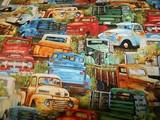 Vintage Trucks per half meter length