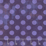 """Grunge Spot Eggplant 108"""" wide Backing - Per half meter length TEMP OUT OF STOCK"""