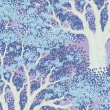 Juniper Blue - Tilda Woodland collection - 1/2 metre length