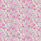 Clara Plum - Tilda Woodland collection - 1/2 metre length
