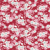 Aster Carmine - Tilda Woodland collection - 1/2 metre length