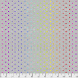 Hexy Rainbow Dove - Tula Pink True Colors collection - 1/2 metre length