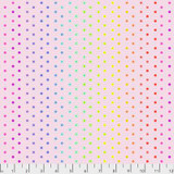 Hexy Rainbow Shell - Tula Pink True Colors collection - 1/2 metre length