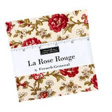 "La Rose Rouge Collection - 5"" Charm Pack"