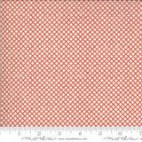 Garriere Faded Red- La Rose Rouge Collection - 1/2 metre length