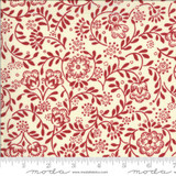 Perpetue Pearl/Rouge - La Rose Rouge Collection - 1/2 metre length