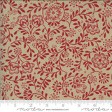 Perpetue Roche/Rouge - La Rose Rouge Collection - 1/2 metre length
