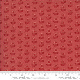Latour Faded Red - La Rose Rouge Collection - 1/2 metre length
