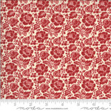 Feligonde Pearl/Rouge - La Rose Rouge Collection - 1/2 metre length